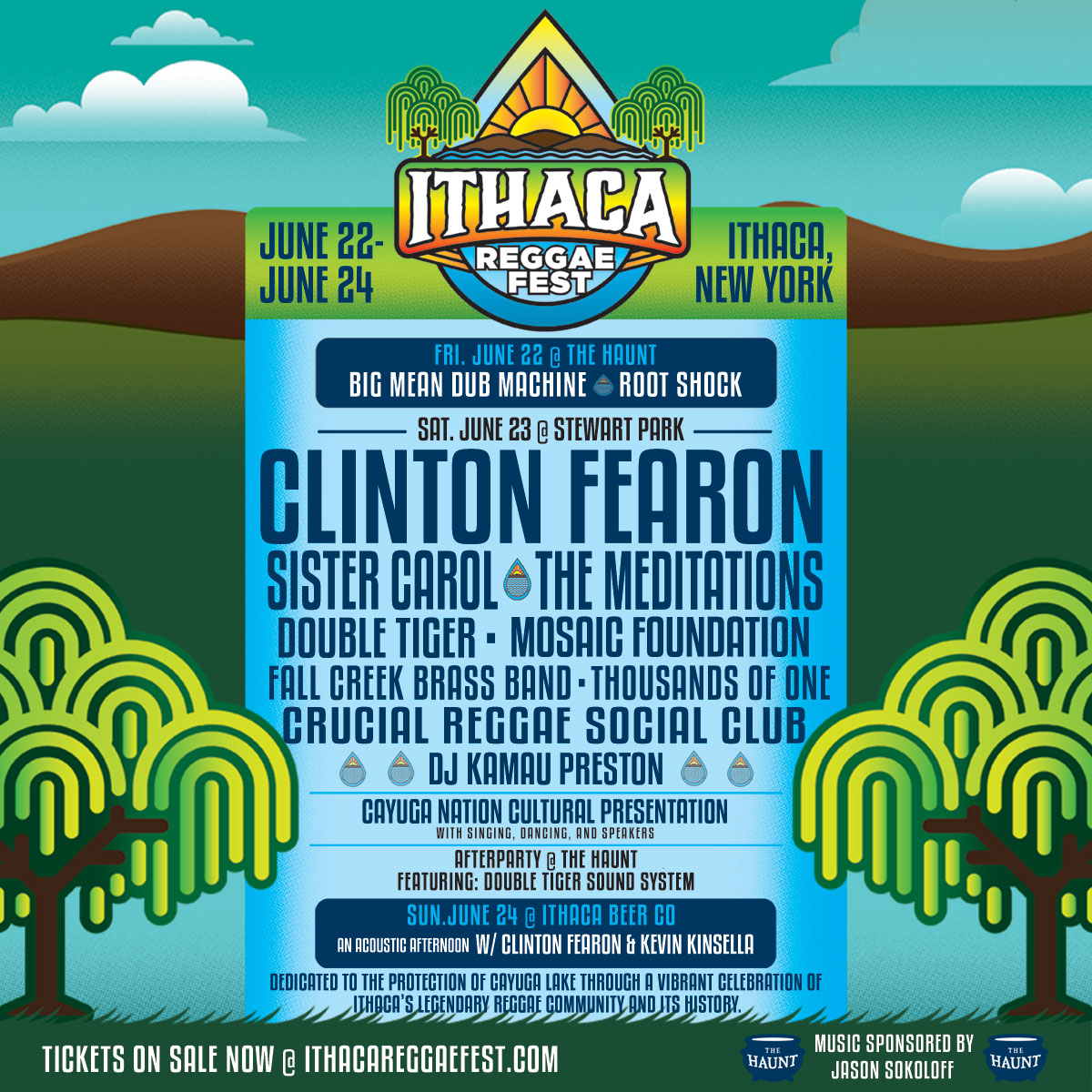 Ithaca Reggae Fest is EXACTLY Where To Be This Weekend